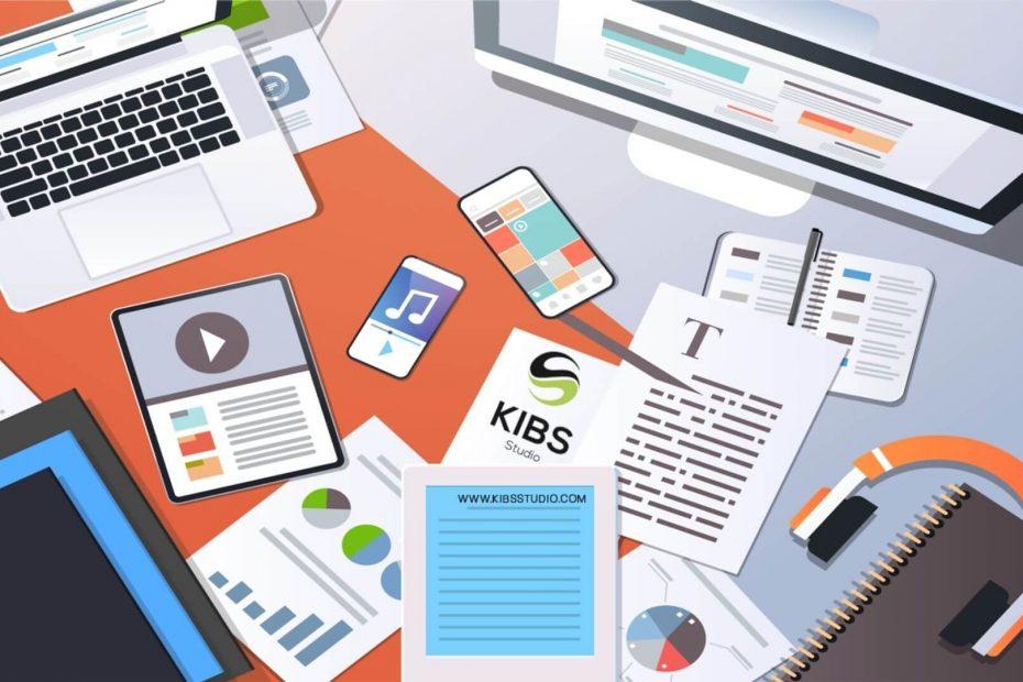 Content marketing KIBS Studio