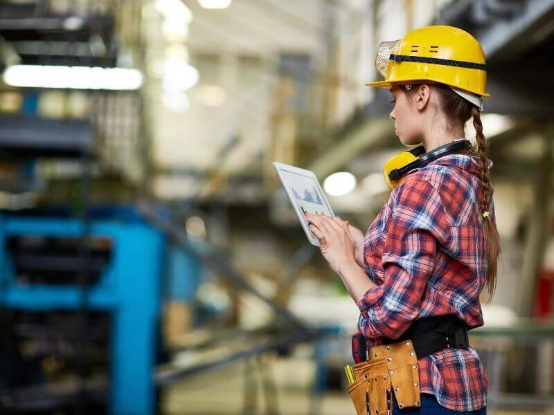 Raccolta dati produzione, qualità, energia e avanzamento KIBS Studio